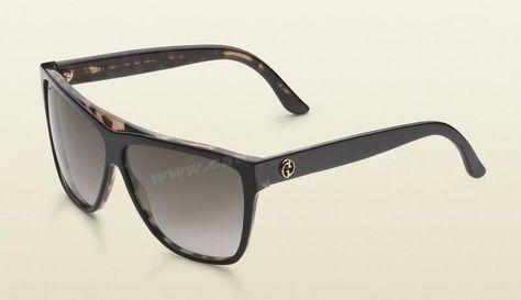 9798563ca4 Cheap Gucci GG 3540 S Sunglasses Black Havana Frame Brown Gradient Len Fast  Shipping For Wholesale