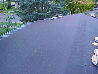 How To Install Plastic Ridge Vent On A Low Slope Roof Attic Venting In 2020 Replace Roof Shingles Ridge Vent Roof Shingles