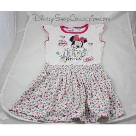 B/éb/é Body Fille 0 /à 24 Mois Rose Blanc//Rose Minnie Disney
