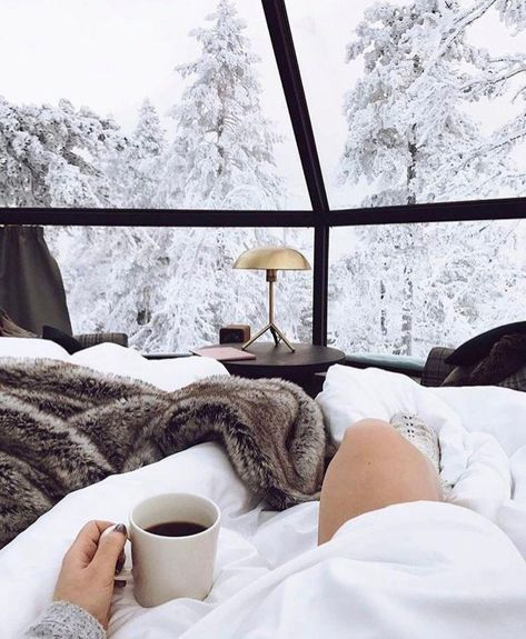 Finland's Luxury Igloos Allow You To Sleep And Stargaze Under The Northern Lig… - winter decor Hygge Christmas, Winter Christmas, Winter Snow, Cosy Winter, Gold Christmas Tree, Christmas Decorations, Beautiful World, Beautiful Places, Christmas Aesthetic