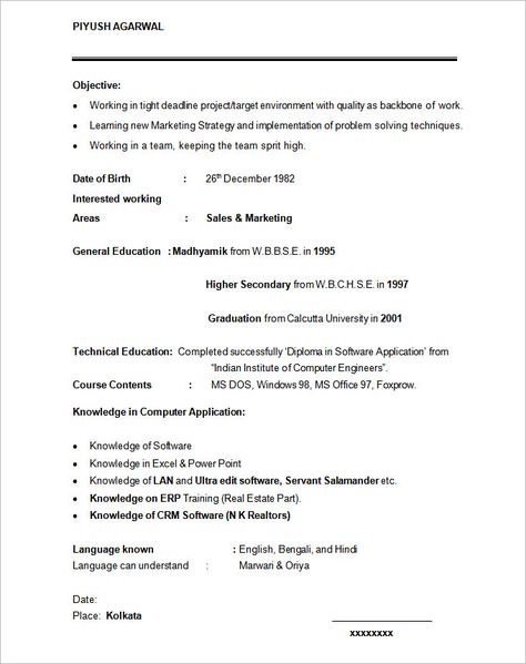 Mba Fresher Resumes - http\/\/wwwresumecareerinfo\/mba-fresher - rhce resume sample