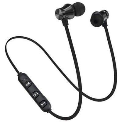 2 81 Gocomma B15 Magnetic Bluetooth Earphones Domotica Inteligente Virtual Pulsera Relo Bluetooth Headphones Wireless Headphones Bluetooth Headphones