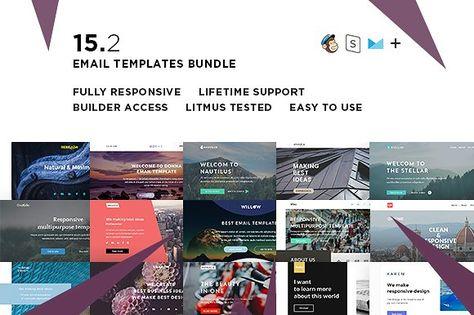 15 Email templates bundle II
