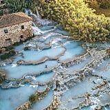 Cascate del Mulino Hot Springs Waterfall in Italy | POPSUGAR Smart Living
