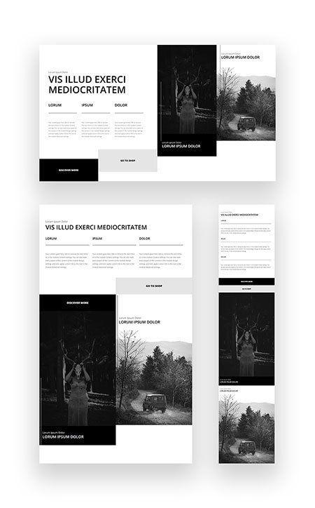 Multi Column Hero Section Divi Layout Free Change Image Web Design Layout