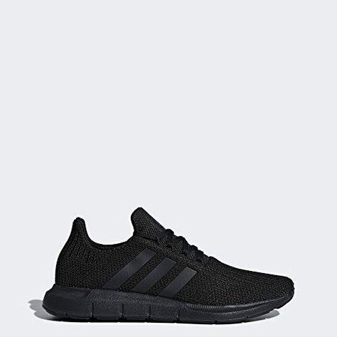 adidas Originals Men's Swift Running Shoe, BlackBlack, 13 M