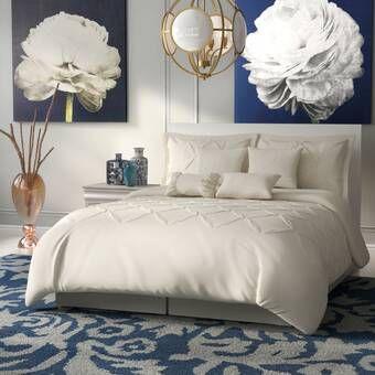 Willa Arlo Interiors Charissa 8 Piece Comforter Set Reviews Wayfair Comforter Sets Bedding Sets Floral Comforter Sets