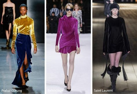 Which is Your Favorite Velvet Dress ? - Dresses and the latest fashion trends 2018