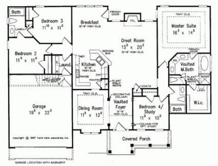 Pin On Ranch House Plans