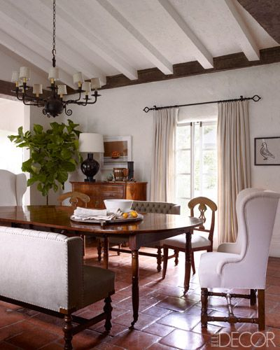 Reese Witherspoon's Ojai House - Kristen Buckingham Interiors - ELLE DECOR