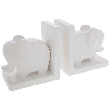 Embossed Polka Dot Elephant Bookends Bookends Decorative Pillows Elephant Book