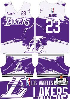 This Is Your Chance To Get This Limited Edition La Lakers Full Sublimated Basketball Jersey Designs For More Informa In 2020 Basketball Jersey Jersey Design Basketball