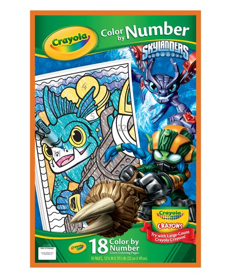 Skylanders Giant Color by Number Coloring Book | Skylanders and Products