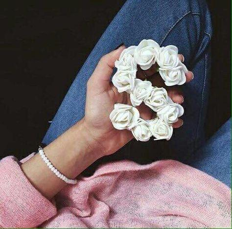 بعض الناس ينسوونكك همكك Letter A Crafts Bohemian Jewelry Flower Letters