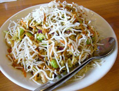 California Pizza Kitchen Copycat Recipes: Thai Crunch Salad