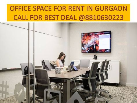 Furnished Office Space For Rent In Gurgaon 8810630223 Office Space Small Space Office Commercial Office Space