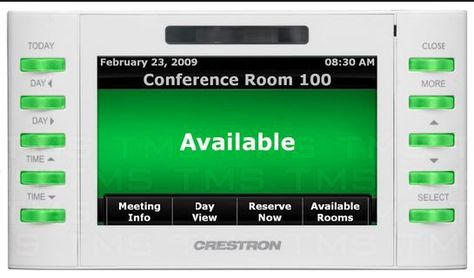 New Crestron Room Reservation Touch Screen Panel. TPMC-4SM -W-S. White - http://electronics.goshoppins.com/home-automation/new-crestron-room-reservation-touch-screen-panel-tpmc-4sm-w-s-white-2/