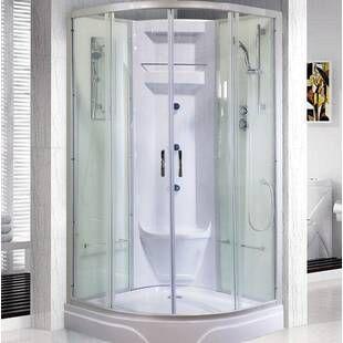 Aston Neoscape 40 X 72 Neo Angle Hinged Shower Enclosure