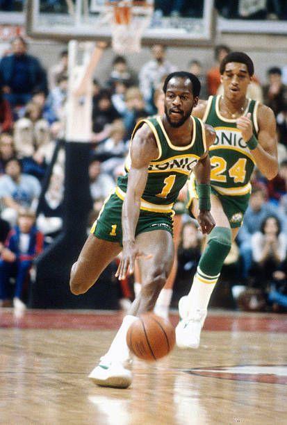 best service 2d677 c33b4 sonics dribbles the ball up court against the New Jersey ...
