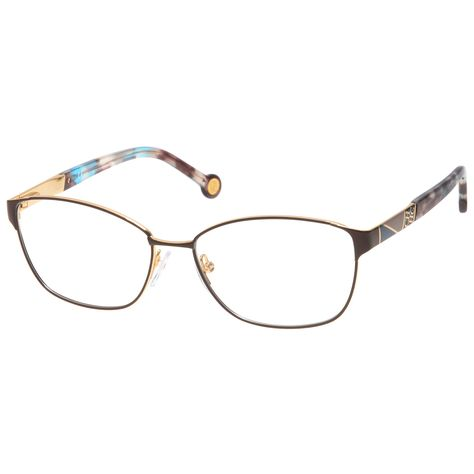 95fee6b81ae Carolina Herrera VHE109 367 Braun Gold  eyewear  fashion  eyeglasses   brillen  gutguckende