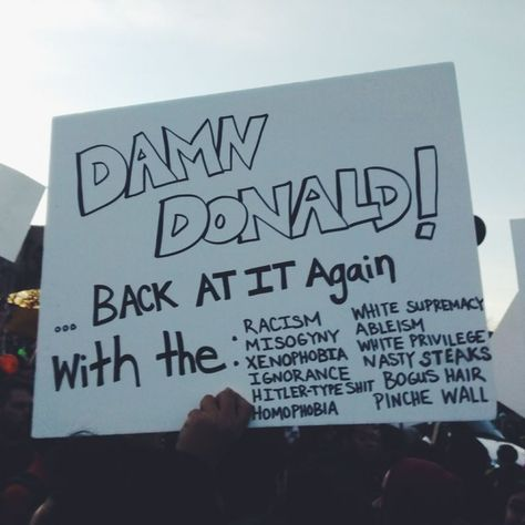 I found this on VscoCam ! Credits to VscoCam #Credits #Protest Posters #VscoCam