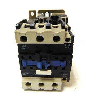 Details About Telemecanique Contactor Lc1 D5011 80 A 750 V 1000 V 8 Kv 70a 600 Vac Max In 2020 Safety Switch
