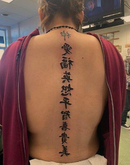 60 Japanese Kanji Tattoo And Symbols Kanji Tattoo Writing Tattoos Tattoos