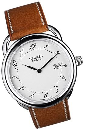 One of the good style practices to keep up for mens fashion trend and in winter of 2013, it is time to change back to a strap that perfectly suits your personal. watch is important to man's fashion. this watch is casual and simple but looks formal.