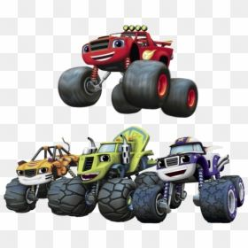 Blaze Jumping Over Monster Machines Blaze And The Monster Machine Background Hd Png Download Monster Trucks Png Monster Blazed Jump Over