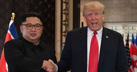 Trump Seemed To Criticize US Journalists In Front Of Kim Jong Un