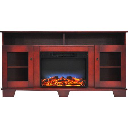Cambridge Savona Electric Fireplace Heater With 59 Entertainment