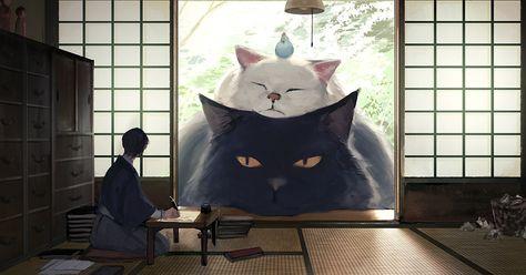 ARTHUR RACKHAM A TRULY MALEVOLENT CAT FINE ART PRINT