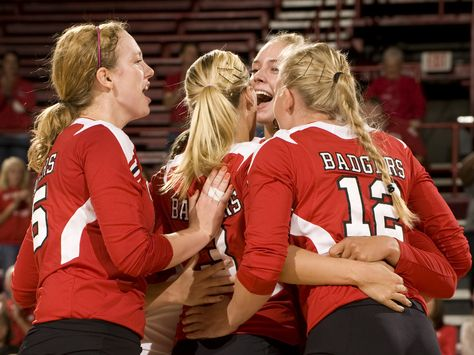 Wisconsin Badgers Volleyball Badger Volleyball Wisconsin Badgers Volleyball