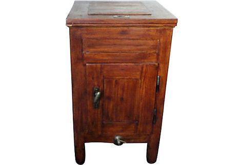 $1395.00 $3295.00 Estimated Market Value Era Antique; 19th century Condition Excellent 19th-C. Pine Ice Box w/ Lift Top on OneKingsLane.cu2026 | Pinteresu2026  sc 1 st  Pinterest & $1395.00 $3295.00 Estimated Market Value Era: Antique; 19th ... Aboutintivar.Com