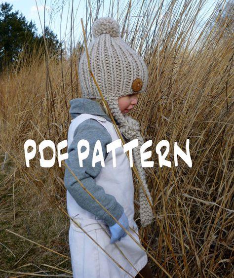 Instant Download Knitting Pattern The Sophia By Bopeepsbonnets