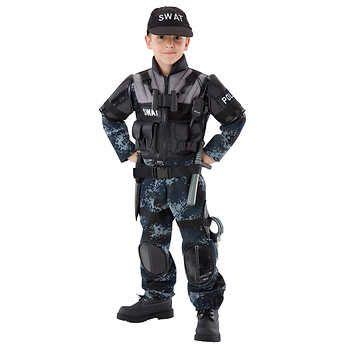Teetot Swat Team With Images Swat Costume Kids Kids Costumes