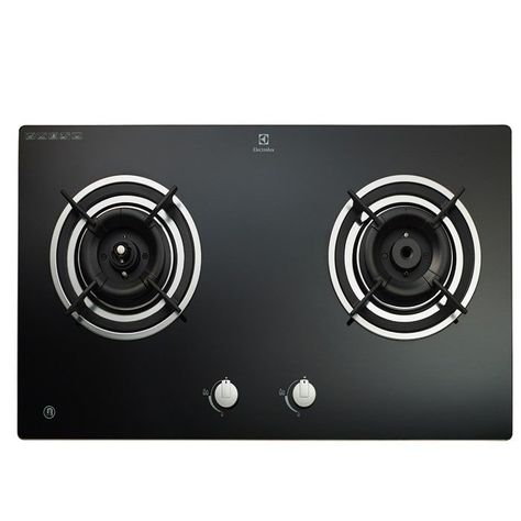 Electrolux Built In Smart Gas Cooker Hob Egt7526ck 5kw 2 Burners Gas Cooker Cooker Hobs Stoves Cookers