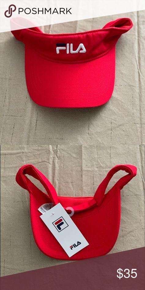 958504dd38be FILA USA Heritage Visor Brand new w  tags. Fila Accessories Hats