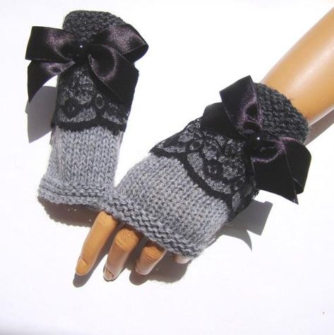 Items similar to Gray Lace Gloves Knit Gray Gloves Gray Fingerless Winter Gloves Knit lace Gloves Gray Women Mitten Women Gloves Gift For Her on Etsy Grey Gloves, Lace Gloves, Crochet Gloves, Fingerless Gloves, Gifts For Women, Gifts For Her, Lace Knitting, Knit Lace, Knitting Ideas