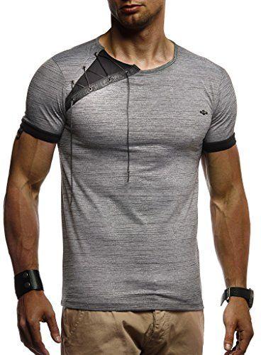 4F Herren T-shirt Kurzarm Sportshirt Sommer Shirt Top Sport Fitness Rundhals