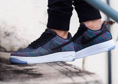 Nike Air Force 1 Ultra Flyknit Low Multicolor 'Blue Lagoon ...