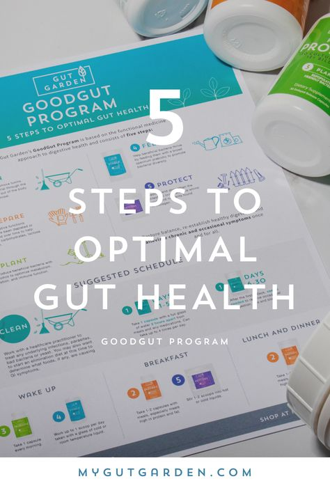 Heal Your Gut In 5 Steps