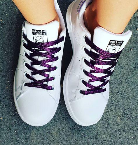 converse violette basse