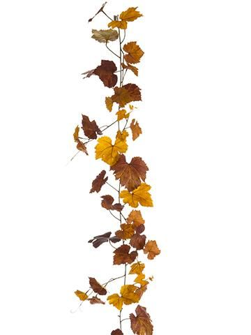 17+ Faux fall leaves garland inspirations