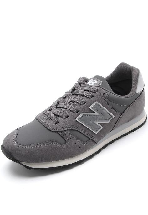 2ca05e84d95 Tênis Couro New Balance 373 Cinza - Marca New Balance