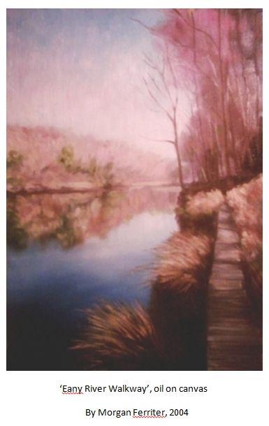 landscape painting by Morgan Ferriter, 2004 #art #painting #Ireland #lovedonegal #irishart