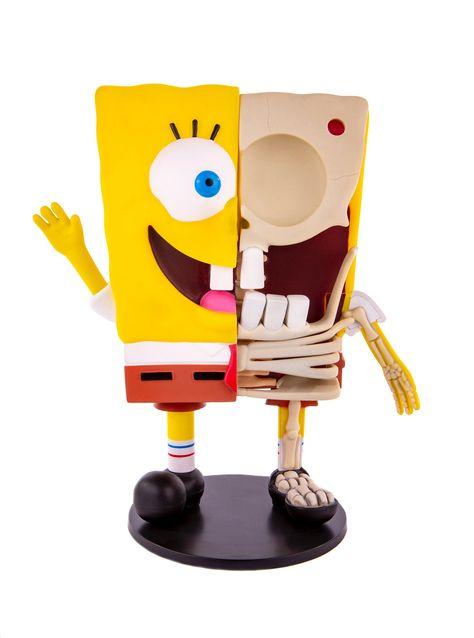 Spongebob Squarepants Dissected Vinyl Figure