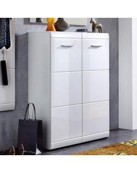 meuble a chaussures blanc alama