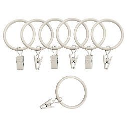 Bali 1 5 Curtain Rings Curtain Rings With Clips Curtains With
