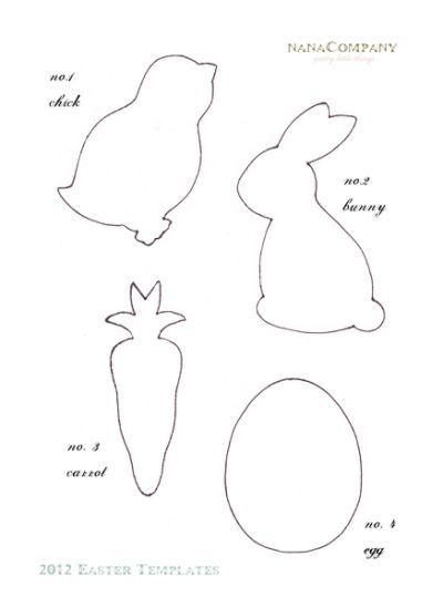 Felt Easter Patterns Free Free Printable Easter Easter Templates Fabric Easter Basket Easter Printables Free